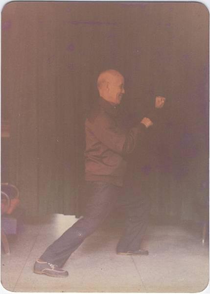 杜毓澤宗師81歲演示陳氏太極拳當頭砲之英姿