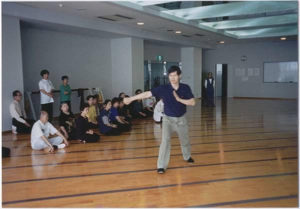 涂宗仁老師旅遊日本宮崎市受邀表演楊氏太極拳散手