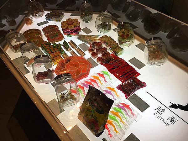 館內糖果展覽