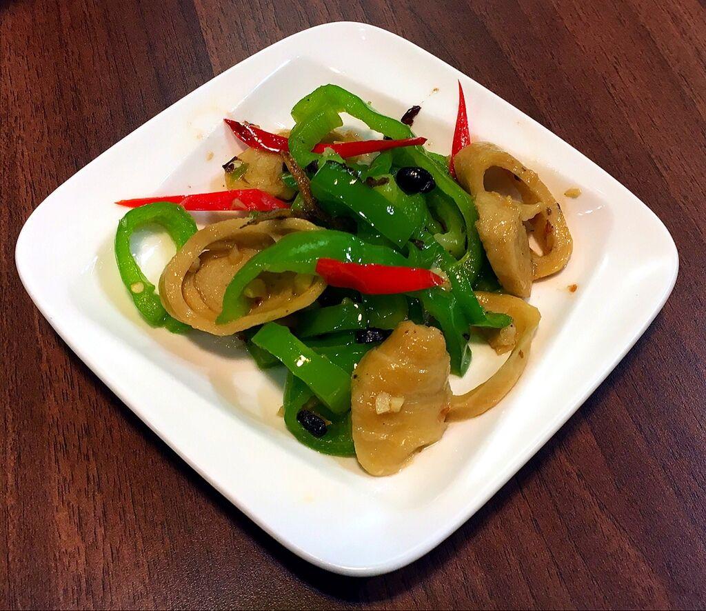 青辣椒麵腸