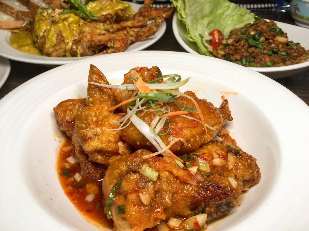 泰式酸辣雞翅