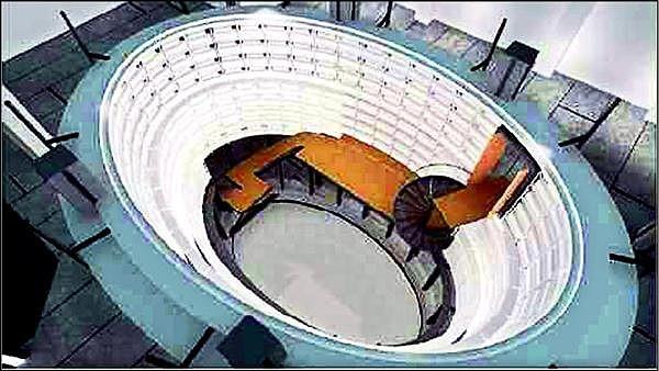 新光三越小西門規劃天空劇場,成為百貨公司藝文展演空間。