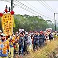 列為國家重要民俗的「東山迎佛祖」備受各界關注,前天深夜舉行回駕大典