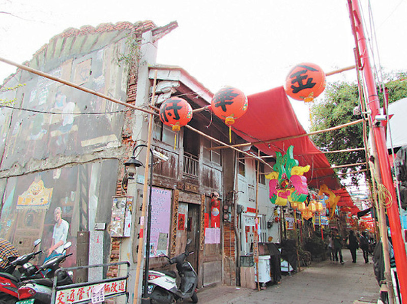 漫步台南五條港 看當代藝術結合傳統