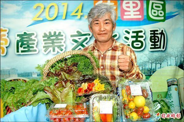 野菜達人林中智。