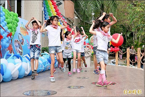 五條港兒童劇團,跳出屬於原鄉的故事。