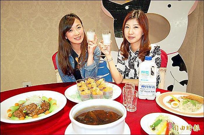 柳營牛奶節推出牛奶料理饗宴、牛奶輕食套餐,訂桌熱銷。