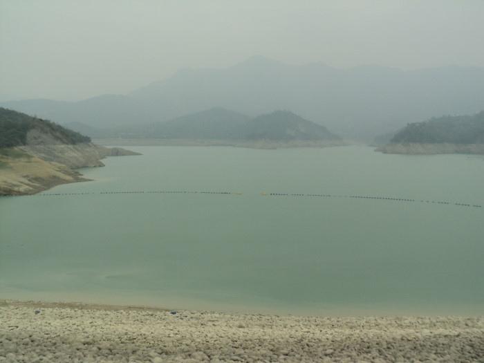 首波梅雨報到,降雨量不多,對曾文水庫蓄水量挹注有限。