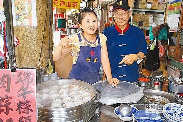 楊文心(圖左,黃文博攝)文史工作者施誠興(圖右)