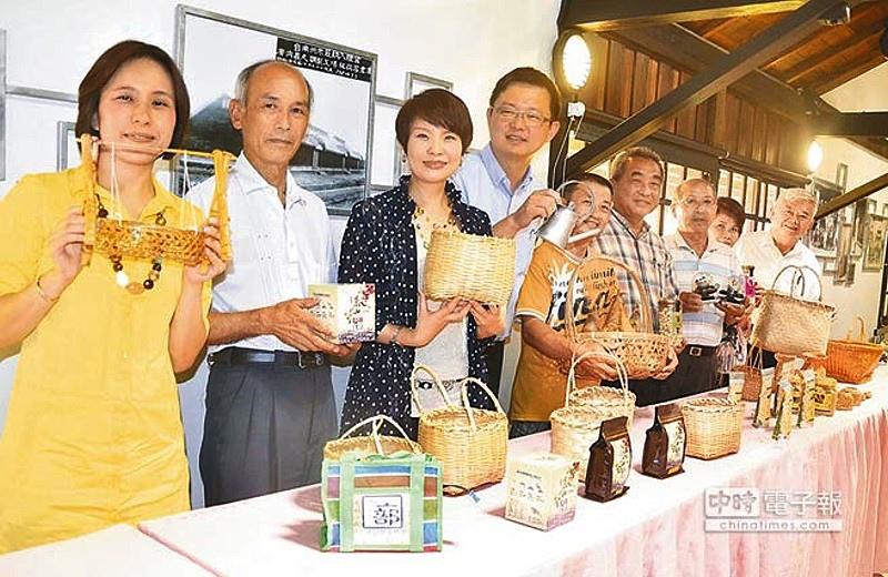 為大新營地區打造的田園文化生活圈將行銷各社區特色物產。