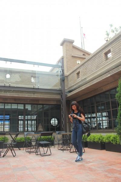 林百貨頂樓規劃為開放空間。