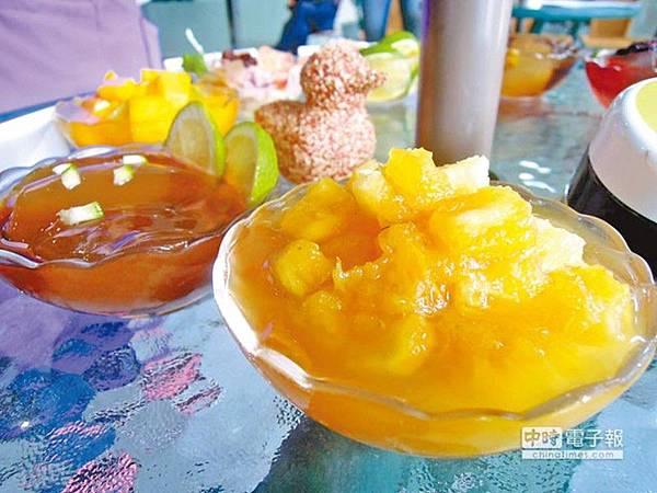當令水果關廟鳳梨調和出酸甜感,加上桂花香,口味清新擄獲網友的心
