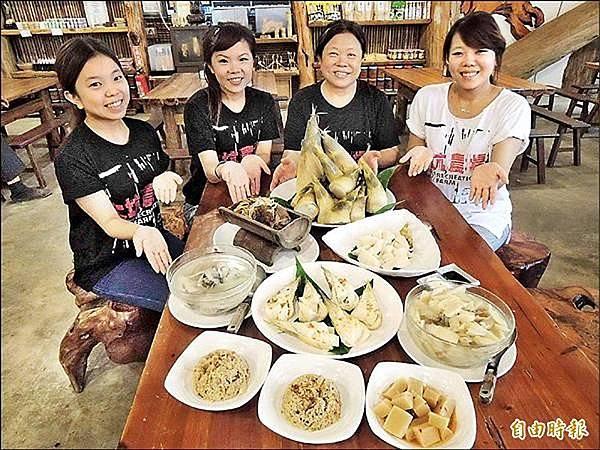 多樣化料理的竹筍大餐,擄獲東南亞觀光客的心。