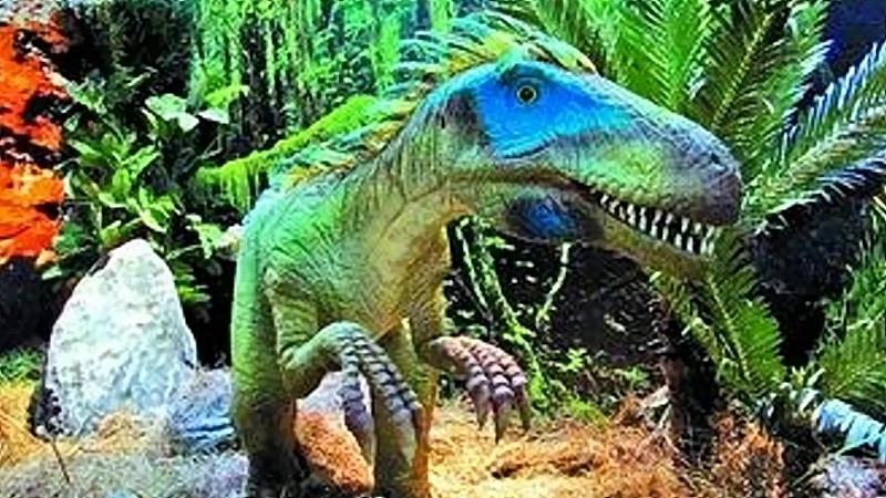 暑假將至,南瀛天文教育園區安排一系列恐龍特展。