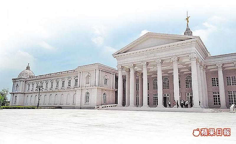 奇美博物館新館年底將試營運。