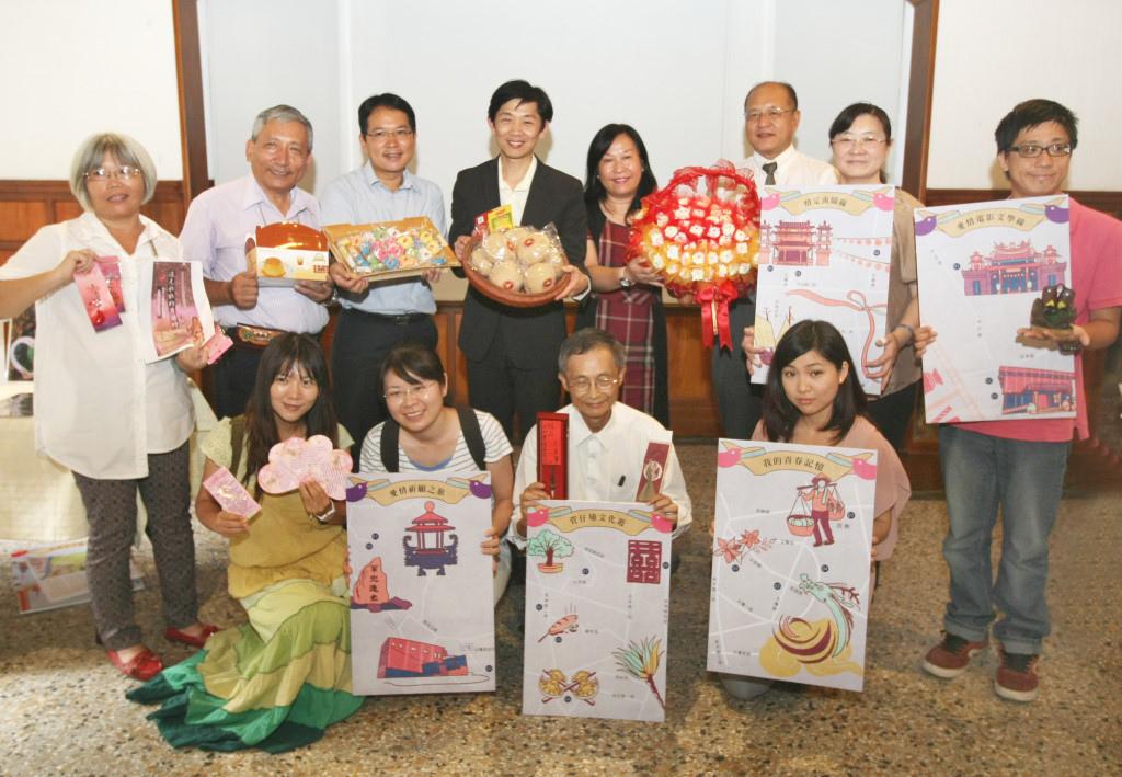 七夕即將來臨,台南市文化局結合各地區公所推出愛情城市七夕嘉年華─「遇見幸福.文化走讀」小旅行活動。