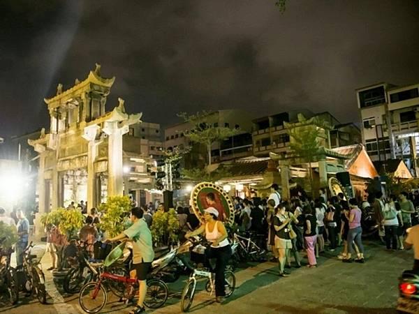 重現300年前台灣大門盛況風神廟旅人市集熱鬧登場