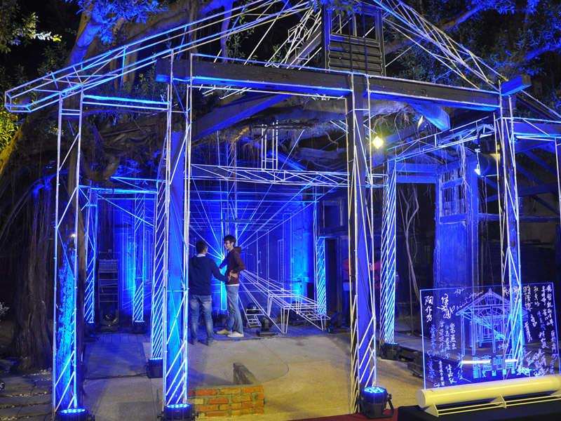 啟動城市地標3D藍晒圖 台南文創觀光新亮點