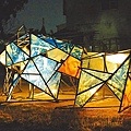 第四屆月津港燈節將於情人節開展,主燈造型亮相。