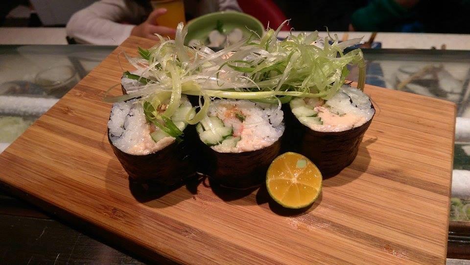 煙燻鱈魚嫩肝壽司