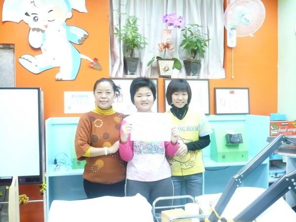 林主任、以樺與Vicky老師