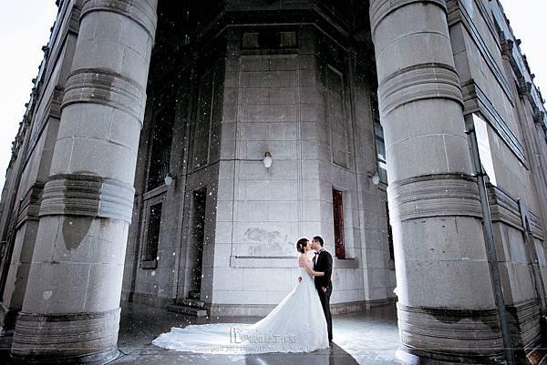 婚紗雨天備案