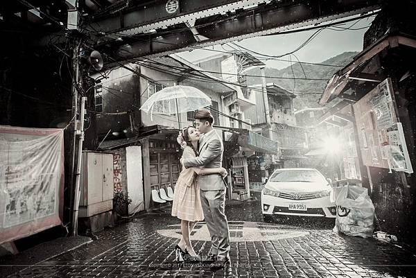 雨天婚紗景點