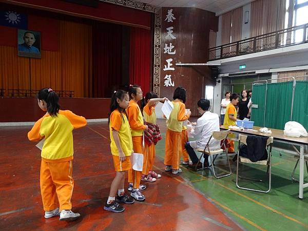 102.11.11一~六年級流感疫苗施打活動