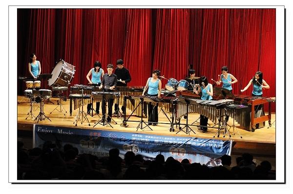 臺北打擊樂團將演出多首經典曲目