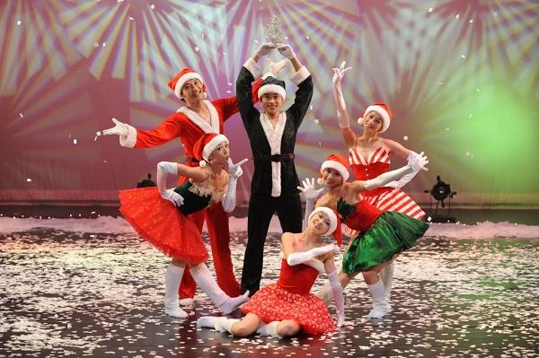 「2010聖誕百老匯」現代芭蕾舞劇,舞者將穿上充滿聖誕氣氛服裝歡慶聖誕