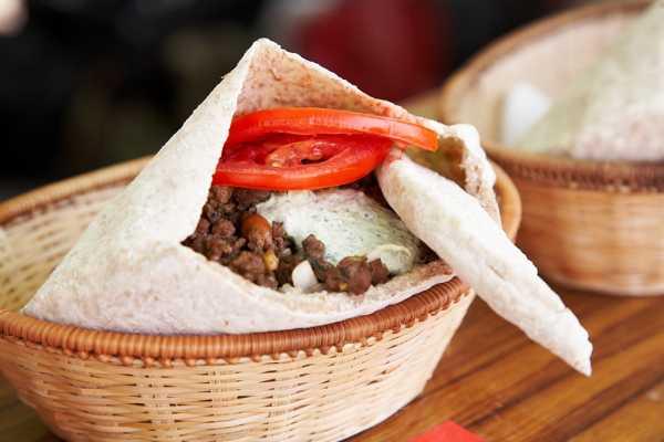 花博場館入選最佳野餐景點之一 異國風摩洛哥漢堡最對味。
