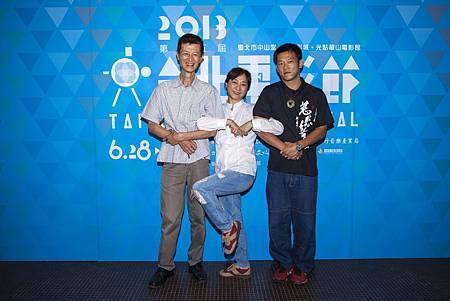 《兒子的大玩偶》阿西、楊麗音和顏正國皆出席首映會