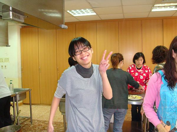 可愛的同組同學