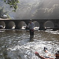 排水涵洞橋