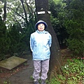 鳳姊於八連古道 登山口