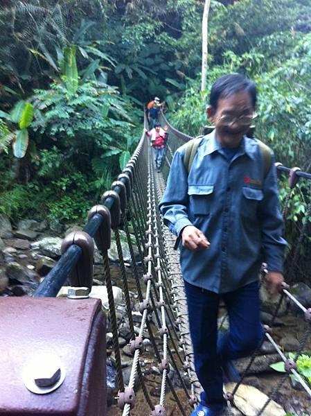 馬胎古道 吊橋