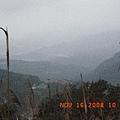 朦朧滴山景