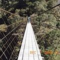數丈高滴白石吊橋