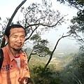 雙峰山途中