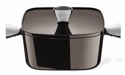 La Gran Ghisa  經典巧克力色方型鑄鐵鍋.jpg