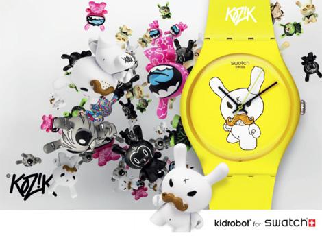 KIDROBORT for Swatch