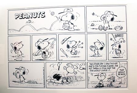 查爾斯.舒茲Charles M. Schulz的珍貴手稿.jpg