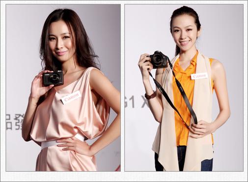 輕巧時尚的PowerShot S100,超強的夜景拍攝功能,適合都會女性作為日常生活的隨身記錄相機