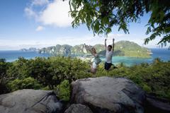 泰國擁有許多迷人的島嶼,可以盡情享受親自大自然的悠閒假期。