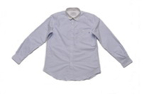 Combo Collar Buttondown Shirt_Blue Strip_Front_8200元-1.jpg