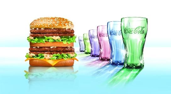 麥當勞+可口可樂