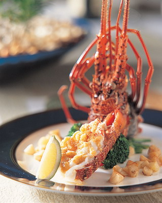 The Westin Taipei 六福皇宮-9999套餐- 留園-奶焗香蒜烤龍蝦.jpg