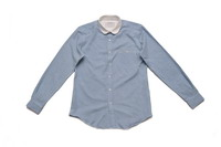Combo Collar Buttondown Shirt_Grey_Front_7800元-1.jpg