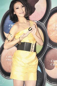 戴佩妮任彩妝品牌CHIC CHOC年度代言人_攝影陳立凱