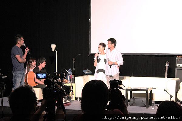 彩排記者會~與台灣的把拔-子鴻老師,鴻爸在現場的話真是讓人感動呢